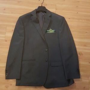 Van Heusen gray suit jacket